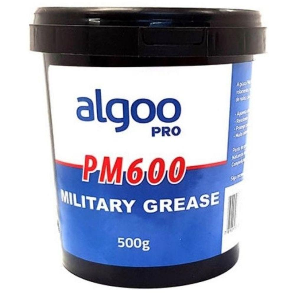 Graxa Bike Algoo Pm600 Militar 500gr Resistente Calor Agua