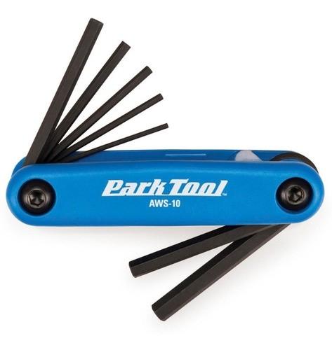 Jogo Chave Allen Canivete Ferramenta Park Tool 7 Funções