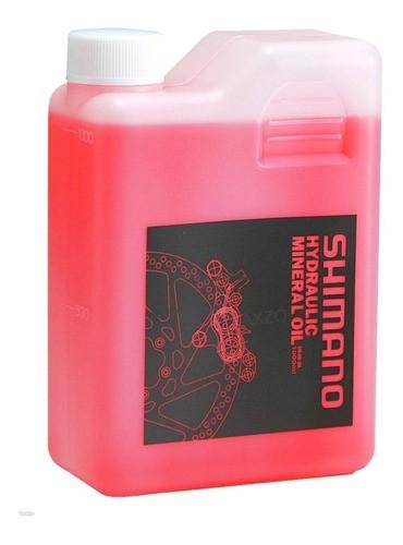 Líquido Para Freio Hidráulico Bike Shimano 1 Litro - Óleo Mineral  - Calil Sport Bike