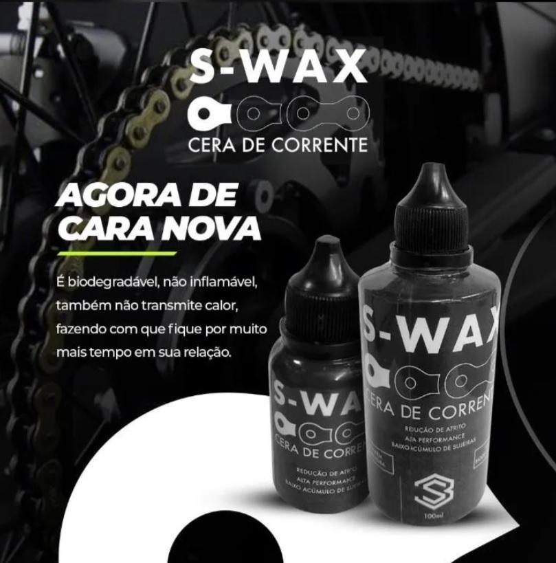 Lubrificante Cera Para Corrente Bicicleta S Wax S Tres 30ml