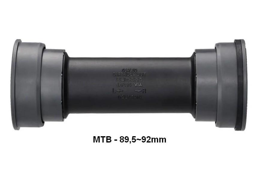 Movimento Central Shimano Deore Xt Sm Bb71 41A Pressfit MTB