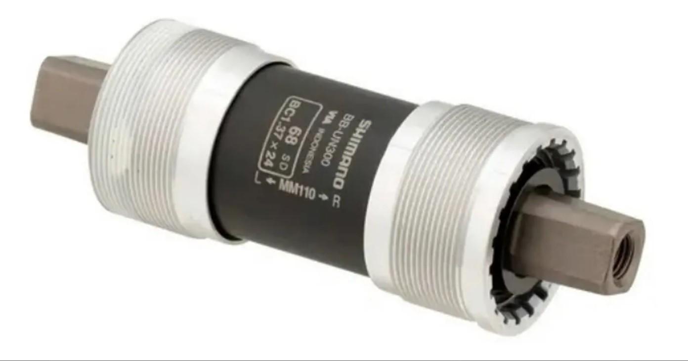 Movimento Central Shimano Rolamento Un300 34.7mm / 122,5mm