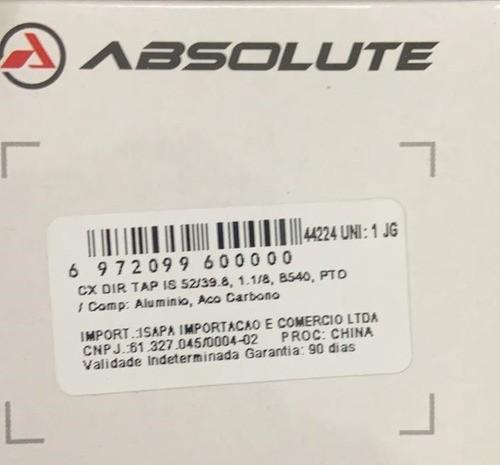 Movimento Direção Absolute Tapered 52/42mm B540 C/rolamentos  - Calil Sport Bike