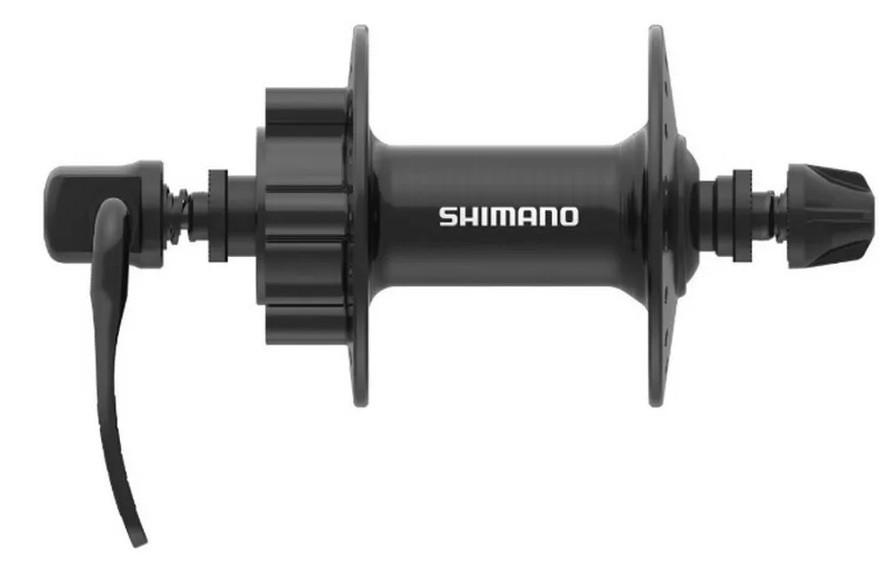 Par Cubo Shimano Touney Tx506 Disco 6 furos 8/9/10/11v - 32F  - Calil Sport Bike