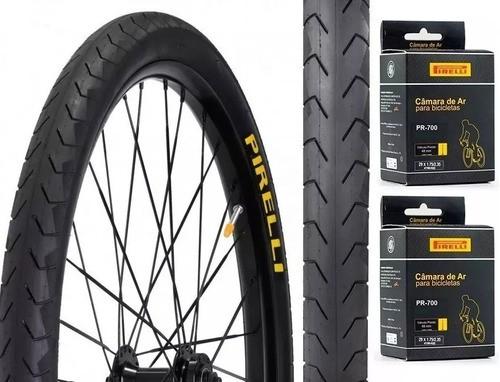 Par Pneu Pirelli Phantom Street 29x1.95 + 2 Câmaras Pirelli  - Calil Sport Bike