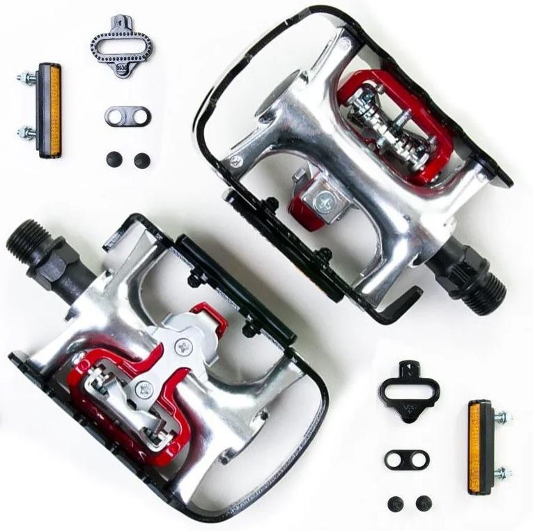 Pedal Bike Wellgo Wpd-998 Clip ou Plataforma c/ Tacos