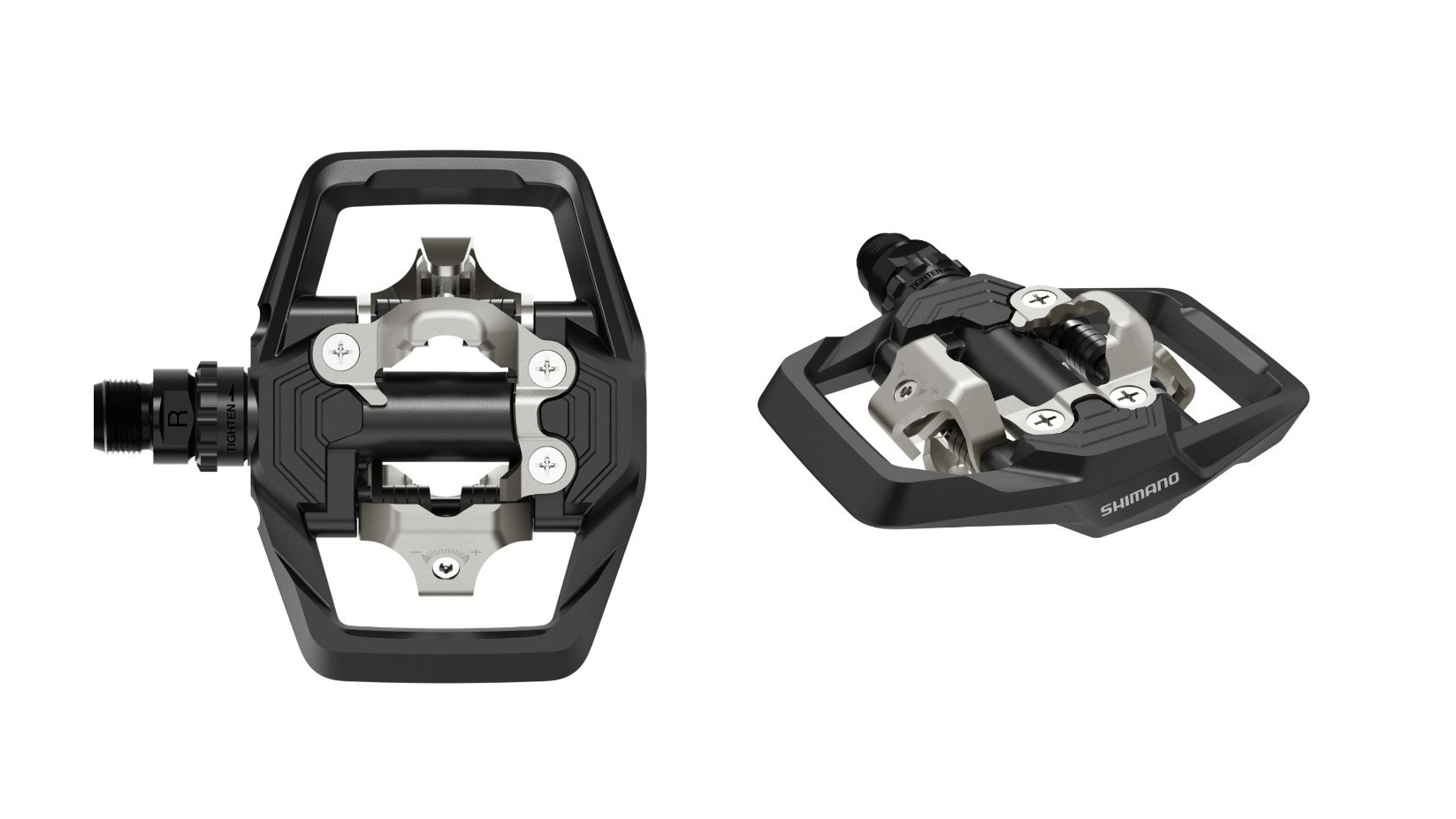 Pedal MTB Clip Shimano PD-ME700 Plataforma + Tacos Mtb