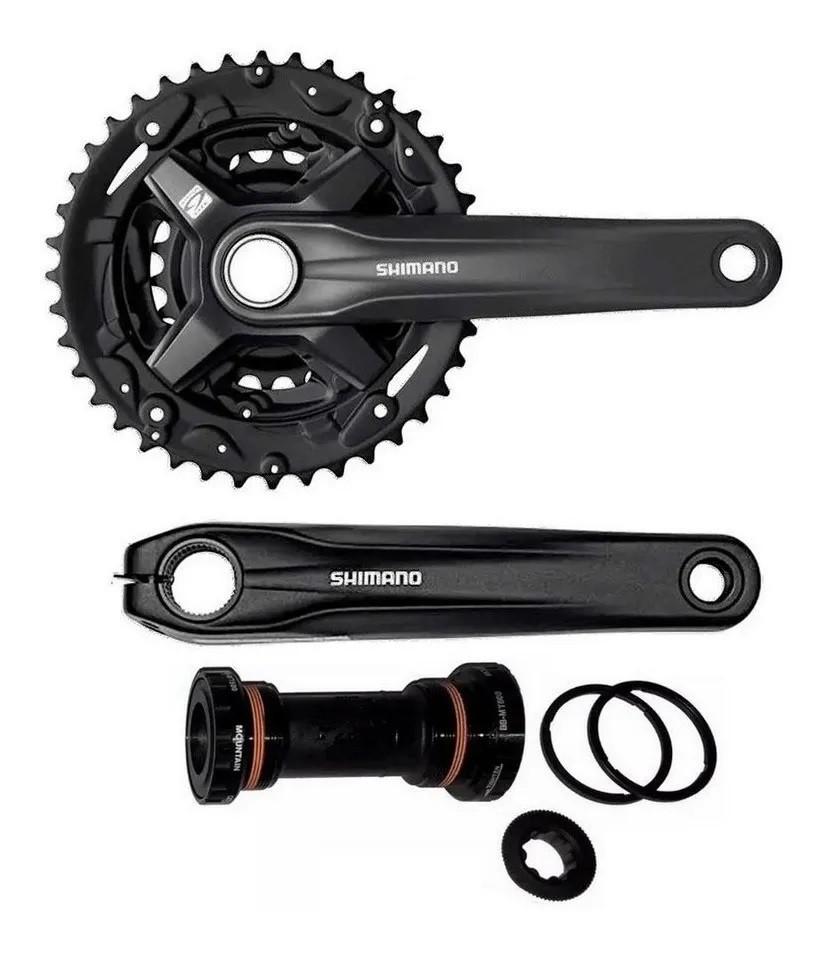 Pedivela Bike MTB Shimano Altus MT-210 40/30/22D 175mm  - Calil Sport Bike
