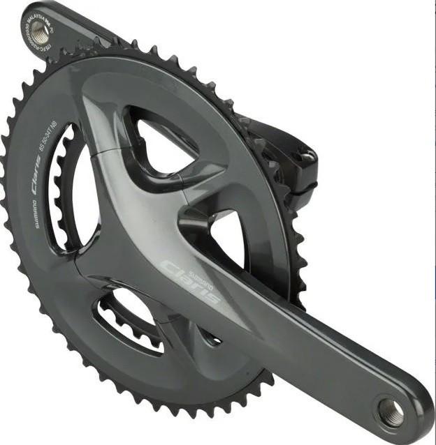 Pedivela Speed Shimano Claris FC-R2000 Integrado 50/34D 2x8v  - Calil Sport Bike