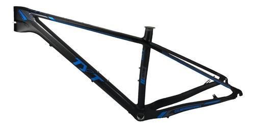 Quadro 29 Bicicleta Mtb Tyt Carbono - Preto / Azul