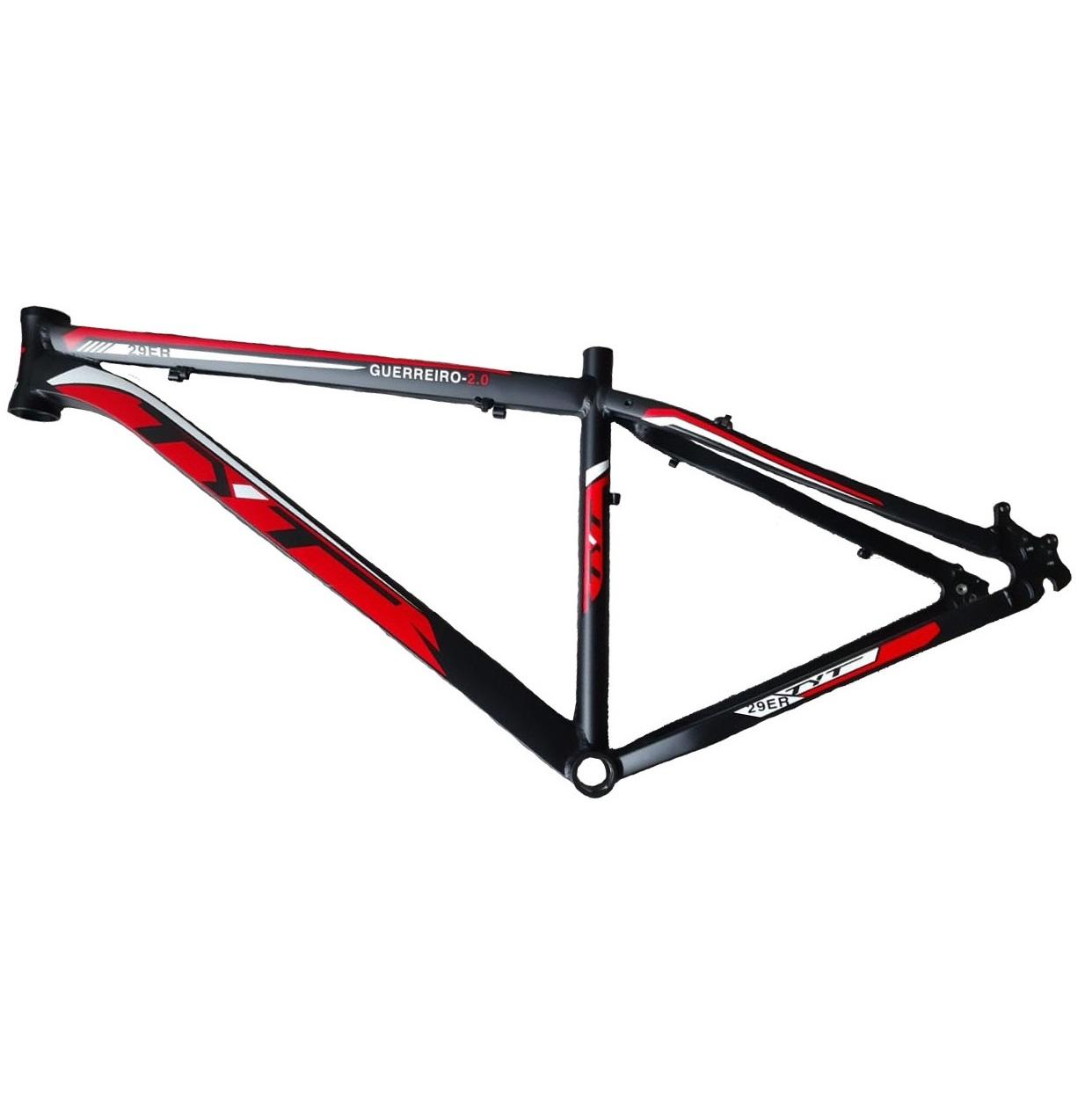 Quadro MTB Aro 29 Bicicleta TYT Guerreiro 2.0 - Vermelho