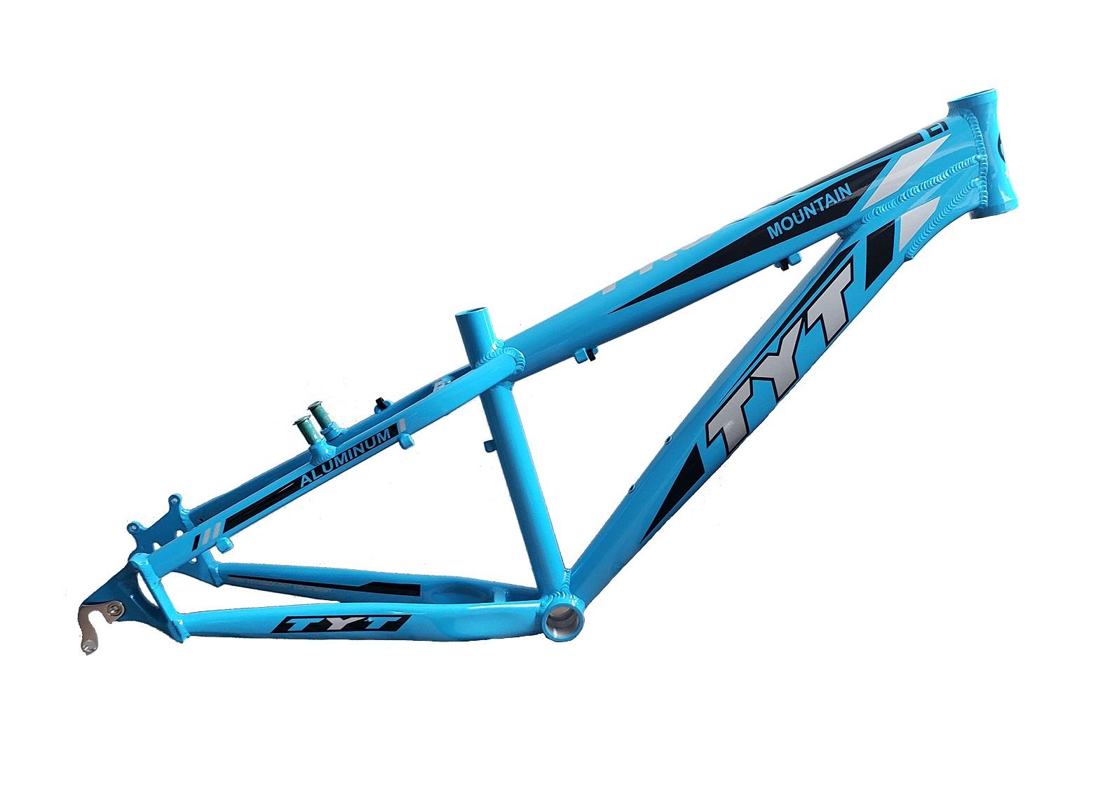 Quadro TYT Freeride Aro 26 Dh Freestyle Passeio - Azul