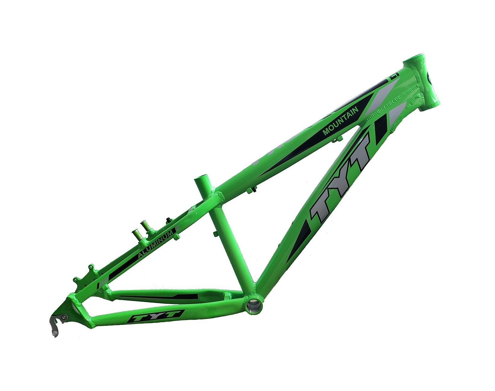 Quadro TYT Freeride Aro 26 Dh Freestyle Passeio - Verde