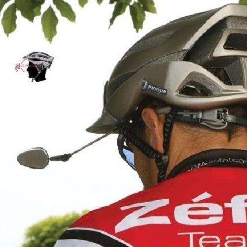 Retrovisor Capacete Bike Articulado Convexo Zéfal - Z Eye