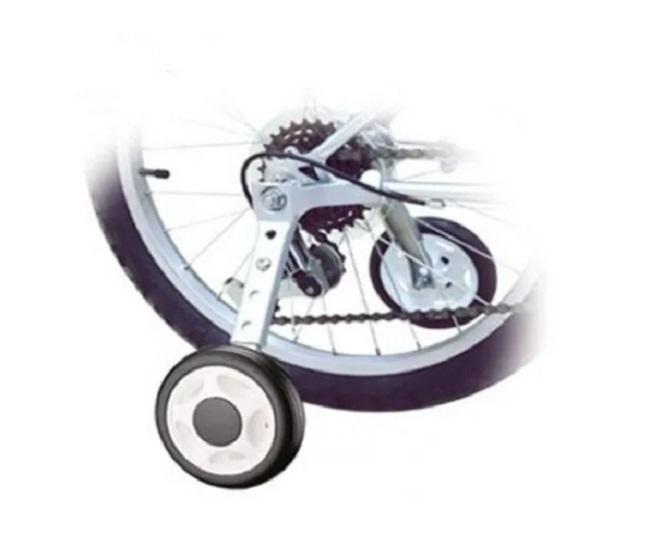 Roda Lateral DURACI Aço Bicicletas Aro 12 Ao 20 Rodinha