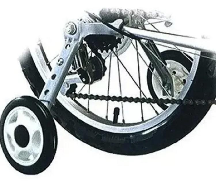 Rodinha Lateral Bike Aro 16 A 24 Roda Reforçada Emborrachada