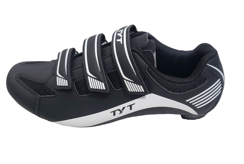 Sapatilha Bicicleta Speed Ciclismo Tyt - Preto / Branco