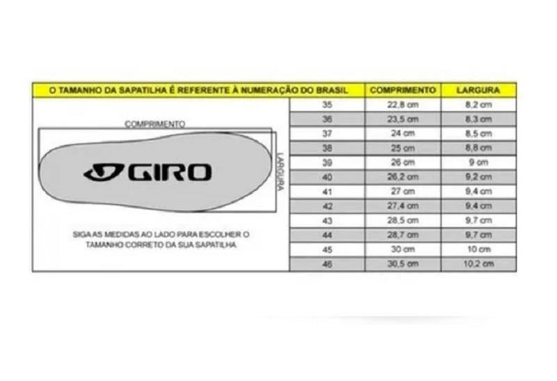 Sapatilha Ciclismo MTB Bike Giro Rincon Boa L6 Clip - PRETO