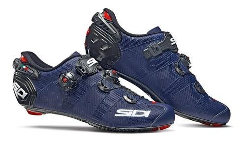 Sapatilha Ciclismo Speed Sidi Wire 2 Carbon 2020 - Azul