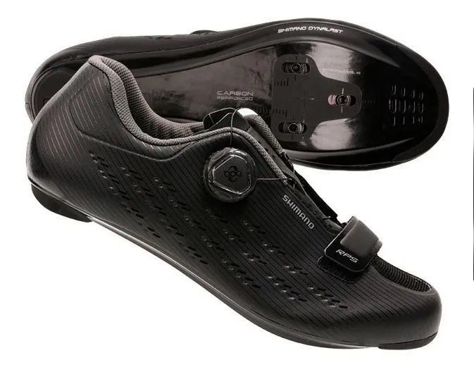 Sapatilha Shimano Speed Rp501 Rp5 Carbono - Preto  - Calil Sport Bike