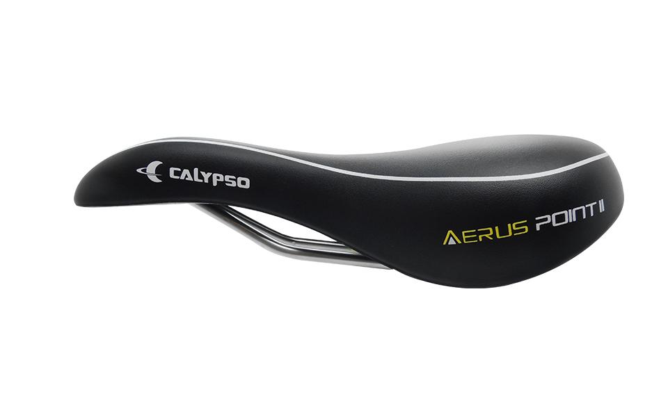 Selim Bicicleta MTB Calypso Aerus Point II Confort Vazado 170mm