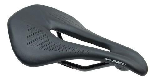 Selim Bicicleta Mtb Promend Carbon Race 150mm - Preto  - Calil Sport Bike
