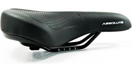 Selim Bike Conforto Absolute Vd850d Vazado Super Soft City