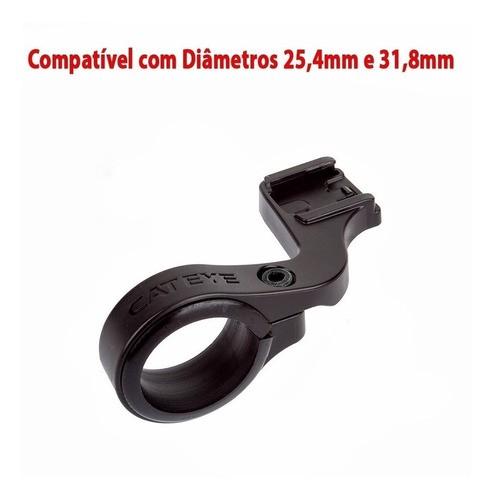 Suporte Adaptador Cateye Guidão 25,4 Até 31,8mm Aero Of100