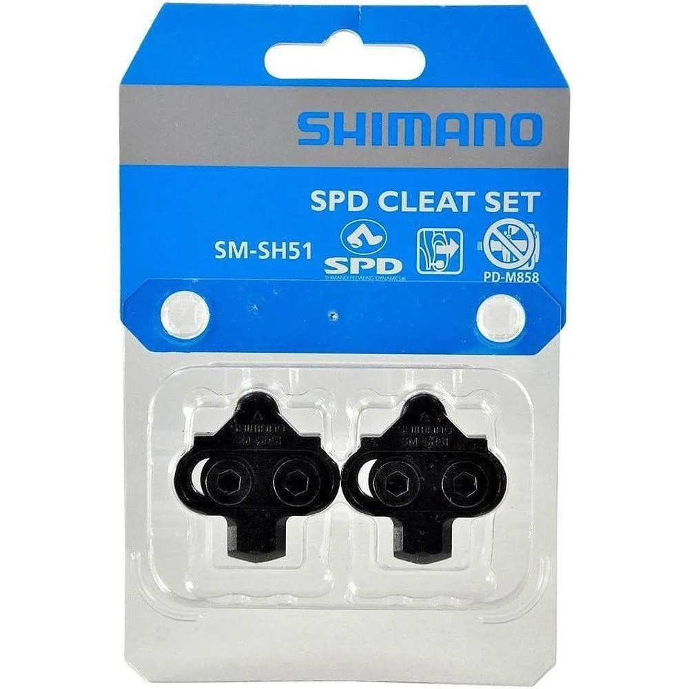 Taco De Pedal Bike Shimano SM-SH51 Mtb Original   - Calil Sport Bike