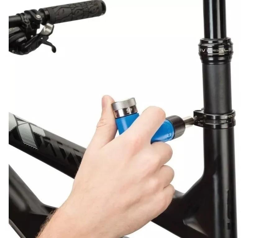 Torquímetro De Estalo Park Tool Atd-1.2 Ajustável Bike Prof.