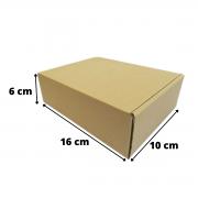 Caixa Papelão Correios 16x10x6 - 50 Unidades
