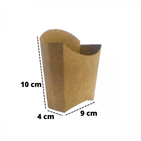 Embalagem para Batata Frita 10x9x4 - 100 Unidades
