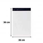 Envelope de Segurança Branco 26X36 - 100 Unidades