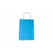 Sacola Azul Bebê Pequena 26x18x9 - 50 Unidades