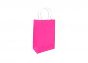 Sacola Pink Pequena 26x18x9 - 50 Unidades