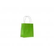 Sacola Verde Claro Pequena 17x16x7 - 50 Unidades