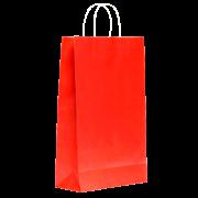 Sacola Vermelha Média 34x22x10 - 100 Unidades