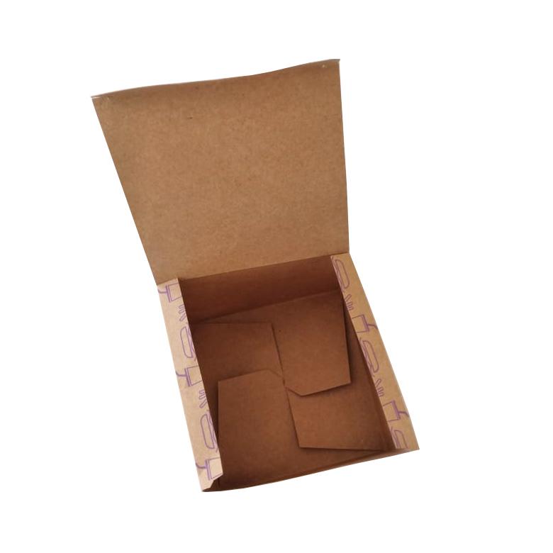 Embalagem para Lanche Kraft 10x12,5x12,5 - 100 Unidades