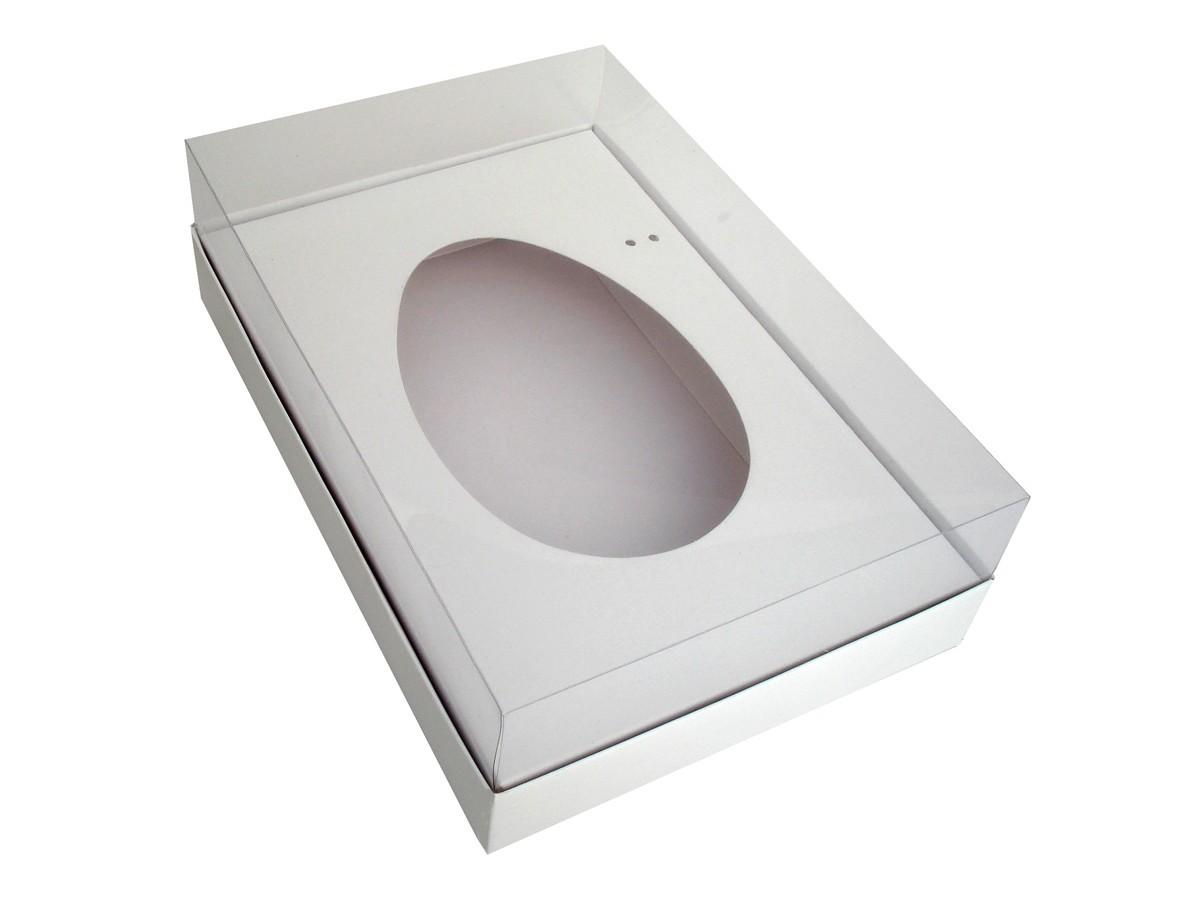 Embalagem para Ovo de Colher Branca 18x14x7,5 - 10 Unidades
