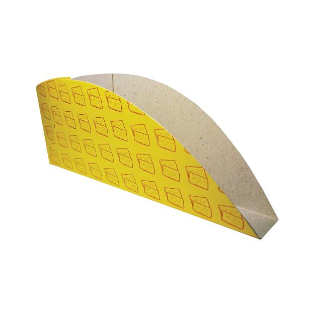 Embalagem para Pastel 16,2x5,8x1,9 - 100 Unidades
