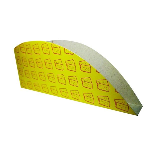 Embalagem Para Pastel 16,2x5,8x1,9 - 300 Unidades