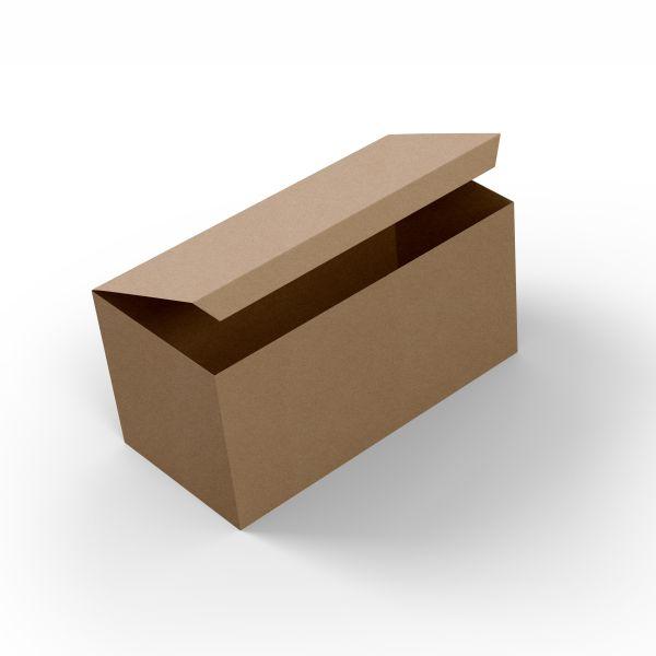 Embalagem para Porção Kraft 34x14x6,5 - 50 Unidades