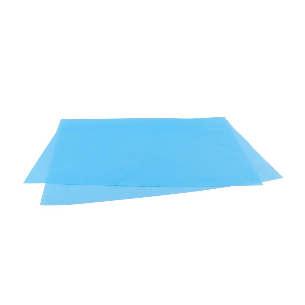 Papel de Seda Azul Claro 48x60  - 100 Unidades