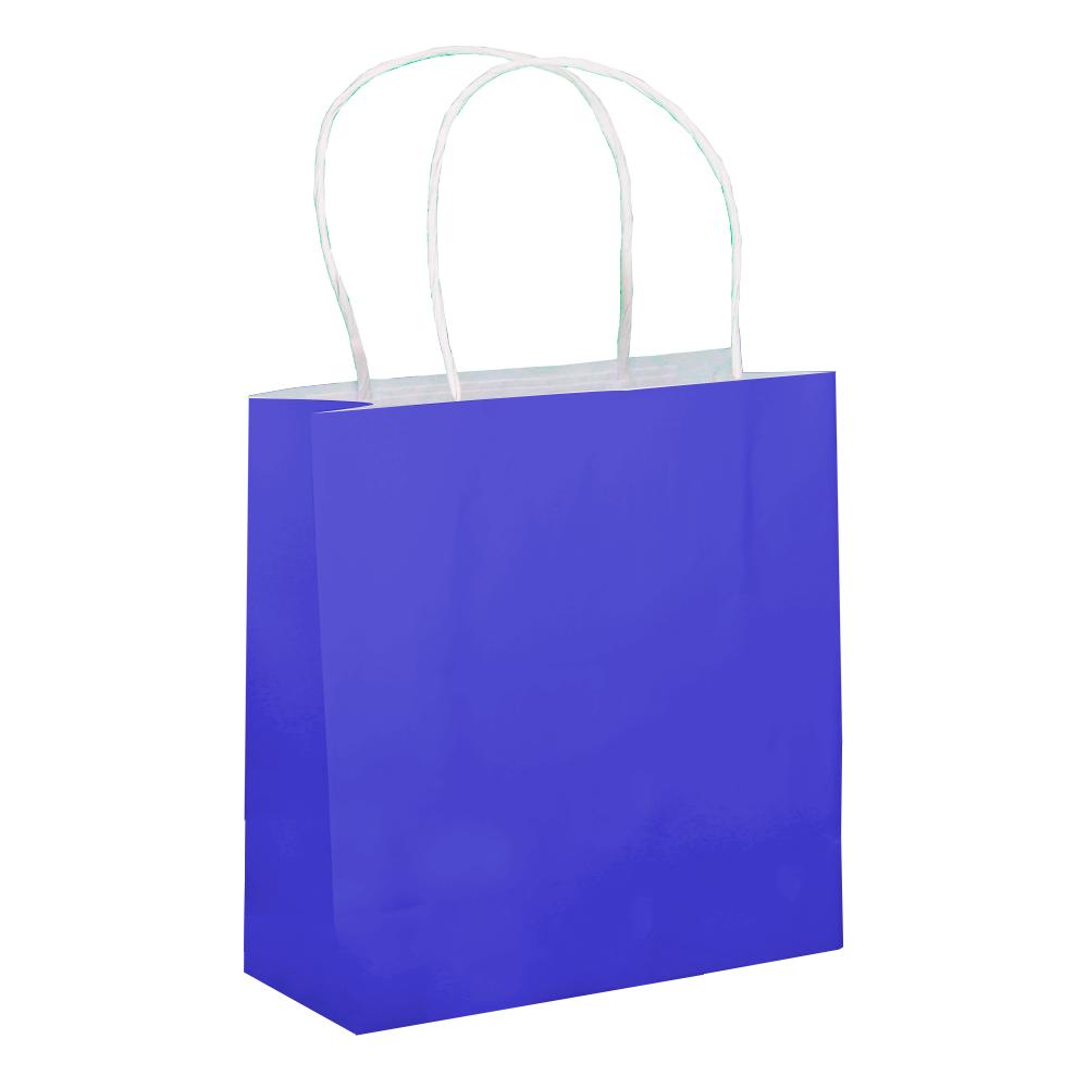 Sacola Azul Pequena 17x16x7 - 50 Unidades