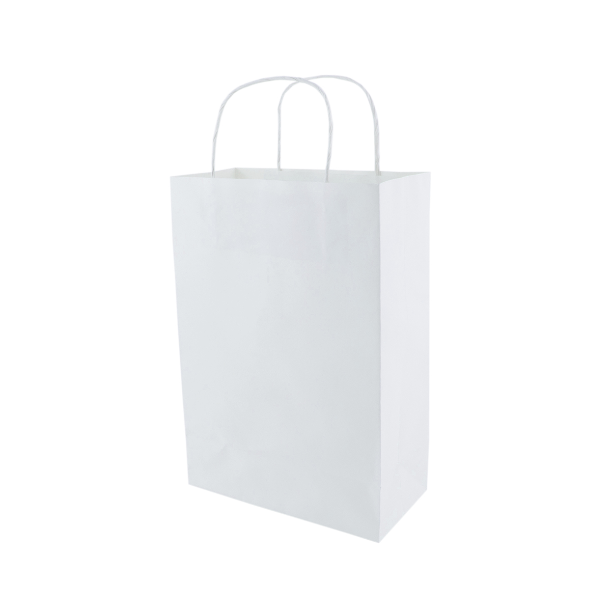 Sacola Branca Pequena 26x18x9 - 50 Unidades