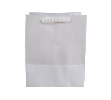 Sacola Branca PP 12x10x7 - 100 Unidades