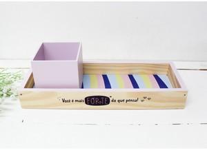 Bandeja + Porta Lápis Você é Mais Forte do que Pensa - Papelote