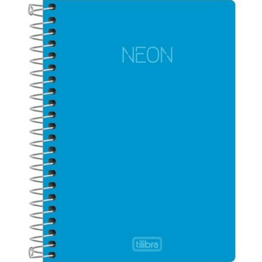 Caderneta Espiral 1/4 Neon -80 Folhas