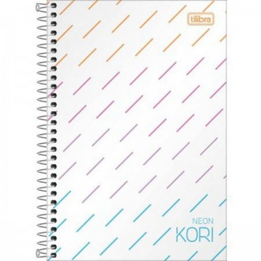 Caderneta Espiral 1/8 Neon -80 Folhas