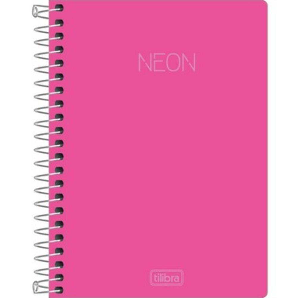 Caderneta Espiral 1/8 Neon - 80 Folhas - Sem Pauta